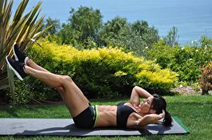 Fotos Fitness Bein Mädchens