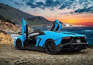 Wallpapers Lamborghini Aventador LP720-4 50 Anniversario