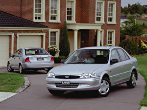 Images Ford Silver color Two Sedan 1999-2001 Laser Sedan Cars
