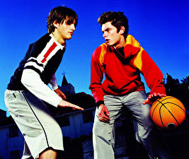 Picture Basketball Ball 2 Sweater Teenage guy athletic