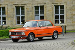 Wallpapers BMW Retro Orange 1971-73 2002 tii Worldwide automobile