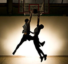 Picture Men Basketball Two Legs sports