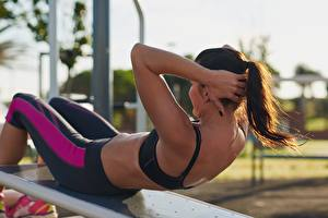 Fotos Fitness Mädchens