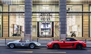 Pictures Porsche 2 Convertible Metallic automobile