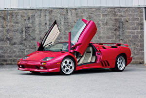 Fotos Lamborghini Rot Roadster 1991999-2000 Diablo VT Roadster9-2000 Lamborghini Diablo VT Roadster Autos