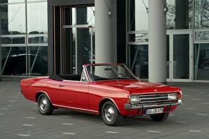 Hintergrundbilder Opel Retro Rot Cabriolet Metallisch 1967-71 Rekord Cabriolet by Karl Deutsch auto