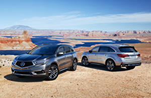 Pictures Acura Two Metallic 2017 MDX (YD3) Cars
