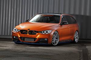 Pictures BMW Orange Tuningsuche 3-Series F31 Touring automobile
