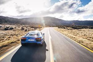 Fotos Wege Audi Hinten R8 V10 Plus Autos