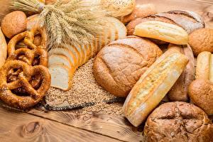 Fotos Brot Weizen Ähre Kringle Lebensmittel