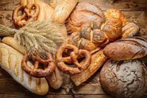 Bilder Brot Weizen Ähre Kringle Lebensmittel