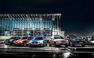Wallpaper BMW Many Tuning Cars