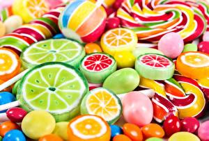 Fotos Süßigkeiten Bonbon Viel Dauerlutscher Lebensmittel