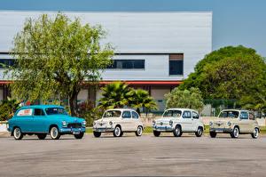 Bilder Seat Antik 1959-63 1400 B Furgoneta Autos