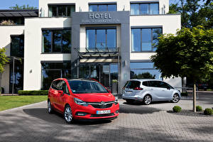 Hintergrundbilder Opel 2 2011 Zafira (C)