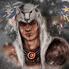 Wallpapers Assassin's Creed 3 Warrior Man Connor, Ratohnhaketon