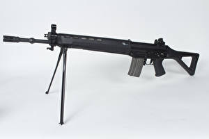 Wallpaper Assault rifle White background SIG SG 550 military