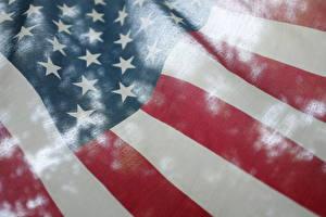 Sfondi desktop USA Da vicino Bandiera