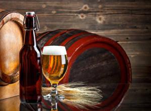 Bilder Bier Fass Weinglas Flasche Ähre Lebensmittel