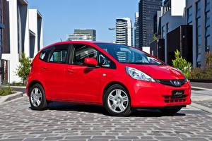 Pictures Honda Red Metallic 2011-14 Jazz Cars