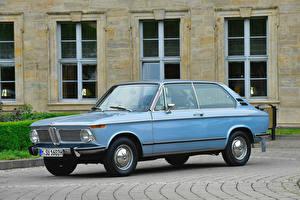 Wallpaper BMW Antique Light Blue Metallic 1971-73 1802 Touring Cars