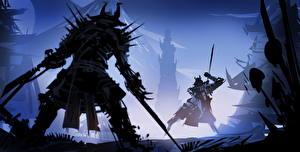 Pictures Warrior Two Samurai Fantasy