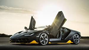 Fotos Lamborghini Offene Tür Centenario Coupe Autos