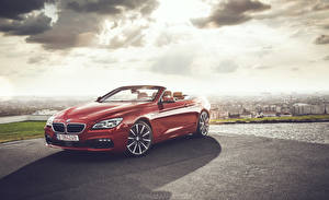 Pictures BMW Cabriolet Red 640 Cars