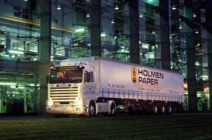 Images Scania Trucks White  auto