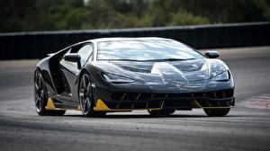 Hintergrundbilder Lamborghini Vorne Centenario Coupe Autos