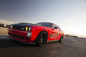 Images Dodge Tuning Red  automobile