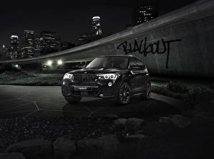 Pictures BMW Black Night X3 F25 Cars