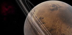 Images Planets Mars Planetary ring Space 3D_Graphics