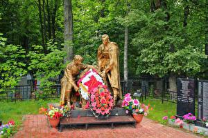 Bilder Russland Denkmal Tosnensky District Leningrad region