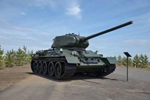 Bilder Panzer T-34 T-34-85 Heer