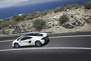 Wallpapers McLaren White 570GT automobile