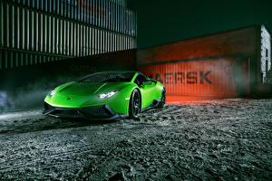 Bilder Lamborghini Gelbgrüne