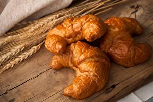 Bilder Backware Croissant Drei 3 Ähre Lebensmittel