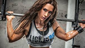 Fonds d'écran Bodybuilding Voir muscles Sport Filles