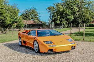 Bilder Lamborghini Orange Diablo VT 6.0