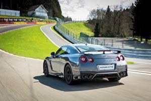 Fotos Nissan Hinten Graue GT-R Autos