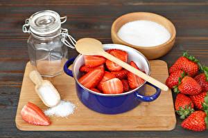 Photo Still-life Strawberry Jar Food