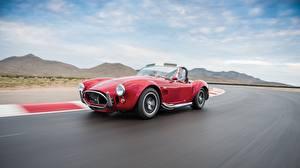 Fotos Ford Bewegung Rot 1964 Shelby Cobra 427 Autos