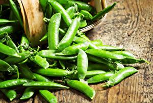 Fotos Gemüse Großansicht Grüne Erbsen