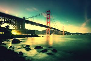 Hintergrundbilder Brücken Vereinigte Staaten San Francisco Bay Bridge