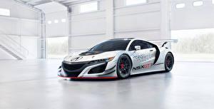 Image Honda White Acura NSX GT3 Cars