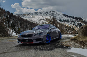Pictures BMW Tuning Mountains Grey 2016 M6 Gran Coupe by Fostla auto