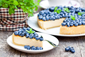 Fondos de escritorio Hornear Pastelón Arándano Tarta de queso Plato Alimentos
