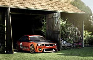 Picture BMW Tuning Orange 2016 2002 Hommage Concept automobile