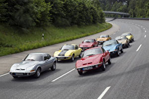Hintergrundbilder Opel Viel Metallisch 1968-2016 Opel GT automobil